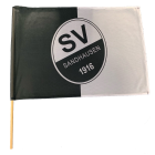 Fahne mit Stab, 60x40 cm